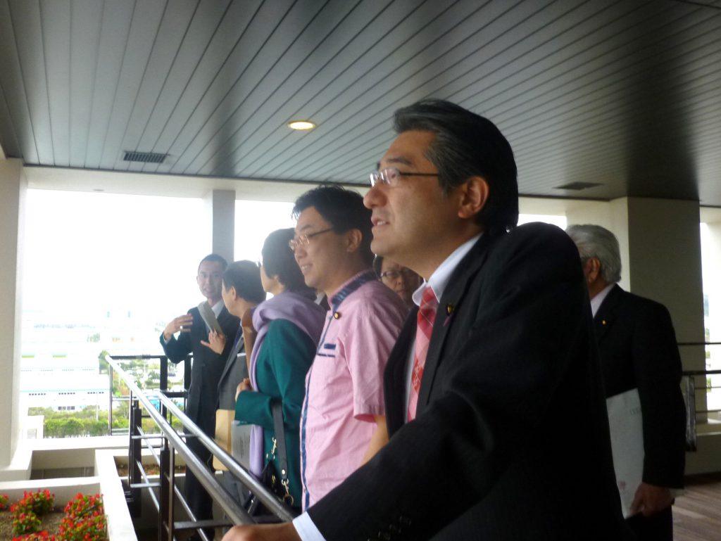沖縄及び北方問題に関する特別委員会による視察