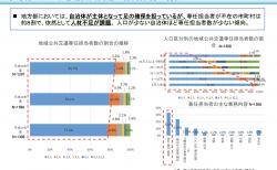 【政策資料集】市町村における地域公共交通の組織体制