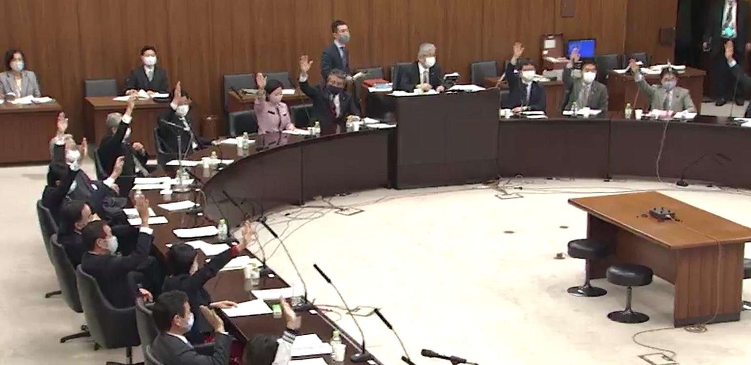 厚生労働委員会 予防接種法案改正採決