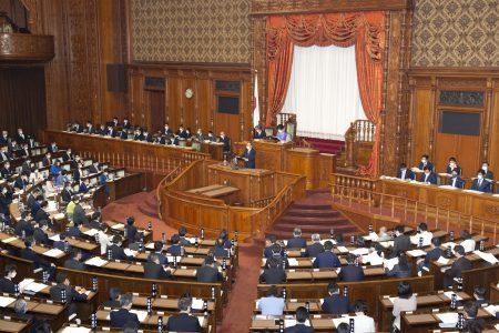 第204回通常国会開会
