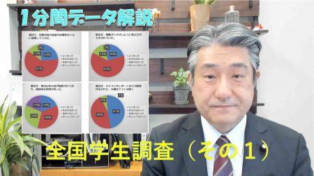 【データ解説】全国学生調査(その1)