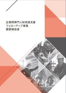 企業間専門人材派遣支援フォローアップ事業概要報告書