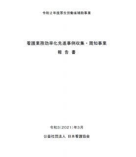 看護業務効率化先進事例集・周知事業報告書