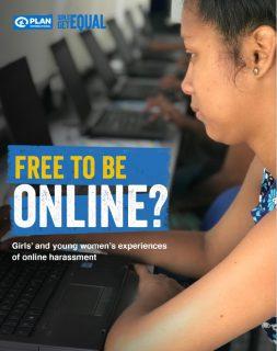 ガールズ・リポート『女の子にオンライン上の自由を』(英文)